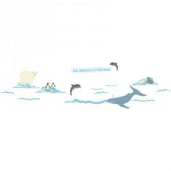 Frise Animaux Pôle Nord