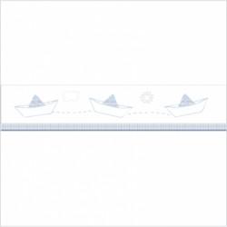 Frise bateaux Petit Jean blanc