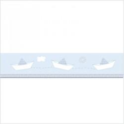 Frise bateaux Petit Jean bleu