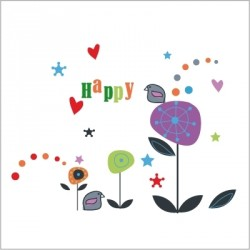 Frise Happy Confettis