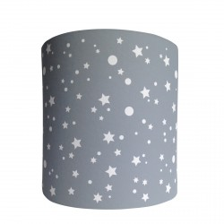 Applique lumineuse étoiles de la galaxie grise