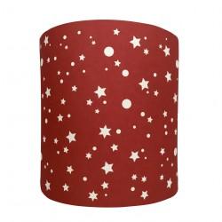 Applique lumineuse étoiles de la galaxie rouge