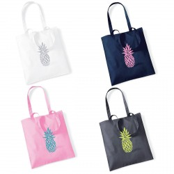 Tote bag ananas personnalisable
