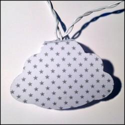 Guirlande lumineuse nuages