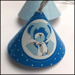 Guirlande lumineuse ours bleu