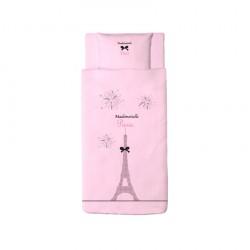 Housse de couette Mademoiselle Paris
