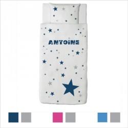 Housse de couette étoiles Antoine