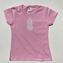 Tee-shirt ananas personnalisable