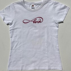 Tee-shirt Love personnalisable