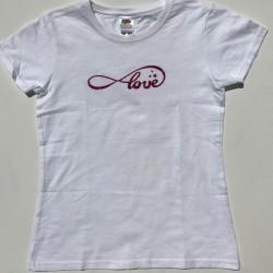 Tee-shirt Love personnalisable