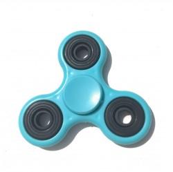 Hand spinner mat bleu ciel