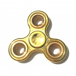 Hand spinner métallisé doré
