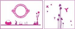 Kit déco ambiance filles  - Le jardin aux oiseaux à - 50%