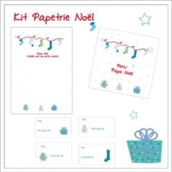 Kit papeterie Noel