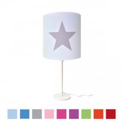 Lampe à poser etoile star personnalisable