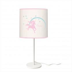 Lampe à poser Licorne des neige étoilée personnalisable