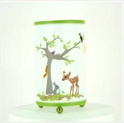 Lampe à poser arbre de la forêt
