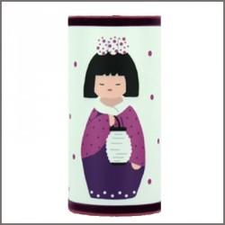 Lampe à poser kokeshi lampion