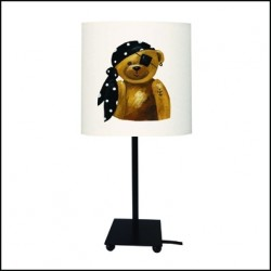 Lampe à poser ours pirate Erik personnalisable