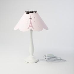 Lampe à poser festonnée tour eiffel