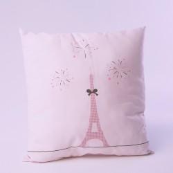 Coussin Mademoiselle Paris Tour Eiffel