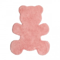 Tapis en coton Little Teddy rose de Nattiot