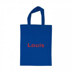 Tote bag mini Louis personnalisable