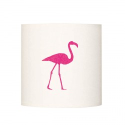 Applique lumineuse flamant rose personnalisable
