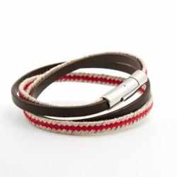 Bracelet Le Marin rouge - Acier