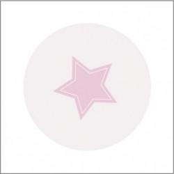 Miroir de poche étoile mauve