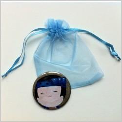 Miroir de poche kokeshi garçon 1