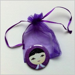 Miroir de poche poupée russe 3