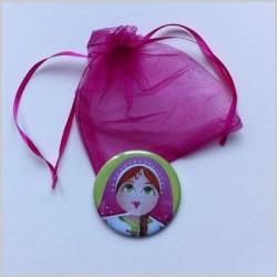 Miroir de poche poupée russe 8