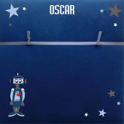 Pêle mêle  robot Oscar personnalisable