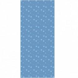 Papier peint étoiles magiques bleu ciel et fond bleu