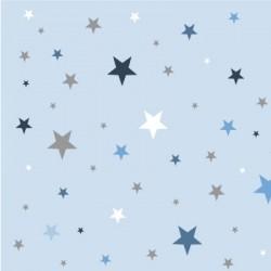 Papier peint  ciel étoilé bleu