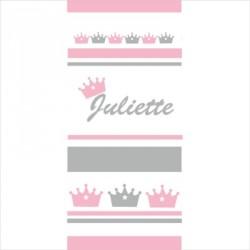 Papier peint  couronne Nathan Juliette