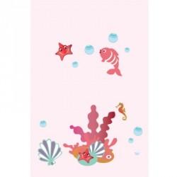 Papier peint aquatique fille