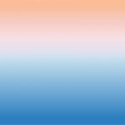 Papier peint ciel orange et bleu