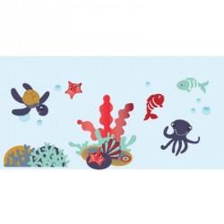 Papier peint décor aquatique garçon XL