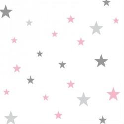 Papier peint danseuse étoile Elsa étoiles