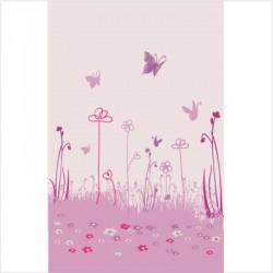 Papier peint jardin aux papillons