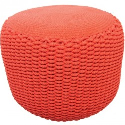 Pouf Needle orange