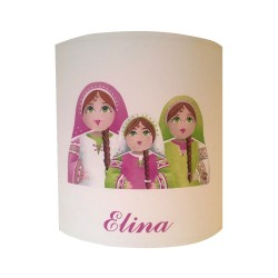 Applique poupées russes personnalisable