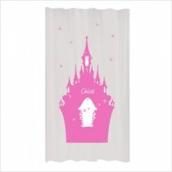 Rideau étoiles et château enchanté