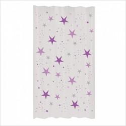 Rideau étoiles magiques violet