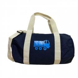 Sac de sport camion bleu personnalisable