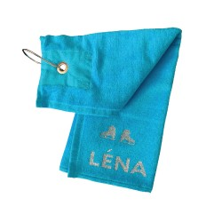 Serviette Patinage Léna personnalisable