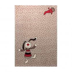 Tapis Rainbow Rabbit beige