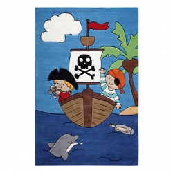 Tapis enfant Pirate Kids
